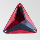 30mm Acrylic Triangle Sew-On Stone, Saim color
