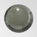 17mm Acrylic Round Pendant, Black Diamond color