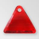 13mm Acrylic Triangle Pendant, Siam color
