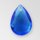 11mm Acrylic Drop Pendant, Sapphire color
