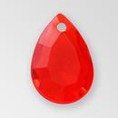 14mm Acrylic Drop Pendant, Light Siam color