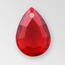 14mm Acrylic Drop Pendant, Siam color