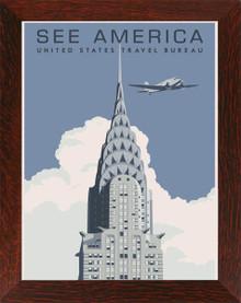 See America - New York - Steve Thomas Framed