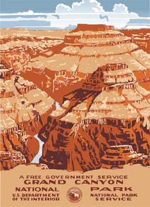 Grand Canyon WPA Poster