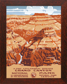 Grand Canyon Poster Framed