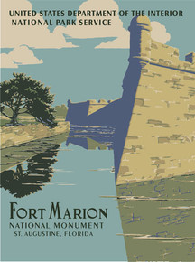 Fort Marion WPA Poster