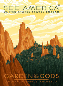 Colorado Garden of the Gods Poster