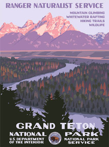 S&D Grand Teton National Park Poster