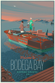 Scratch and Dent Bodega Bay Powerboat Vintage Variant Edition