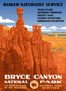 S&D Bryce Canyon National Park Poster