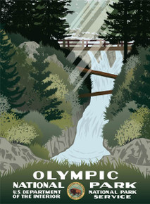 S&D Olympic National Park Poster