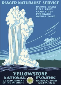 S&D Yellowstone National Park Poster