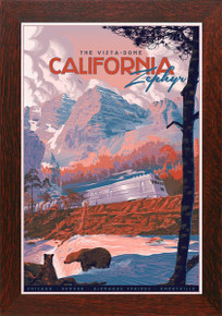 Zephyr Variant Framed Poster