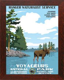 Voyageurs National Park Framed Poster