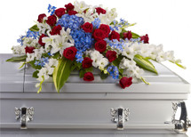 Distinguished Service Casket Spray