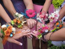 Designer Floral Fantasy Wrist Corsages