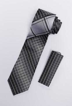 JPJ Tie + Handkerchief WHITE (703)