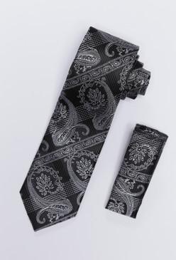 JPJ Tie + Handkerchief WHITE (705)