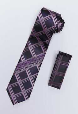 JPJ Tie + Handkerchief LAVENDER (707)