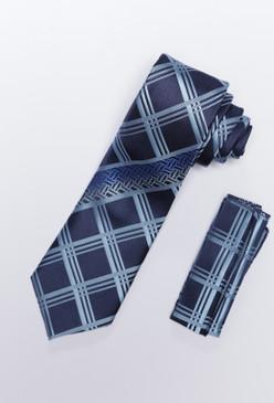 JPJ Tie + Handkerchief SKY BLUE (707)