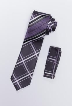JPJ Tie + Handkerchief LAVENDER (709)