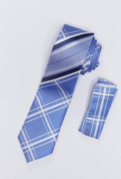 JPJ Tie + Handkerchief SKY BLUE (709)