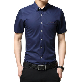 JPJ Impress Design - Short Sleeve - (Navy)