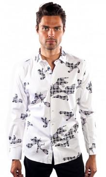 JPJ Puzzled White Shirt