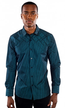 JPJ Royce Teal Shirt