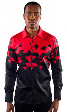 JPJ Triangulate Red Shirt