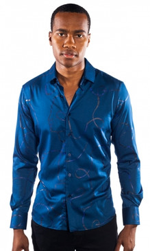 JPJ Ribbon Blue Shirt