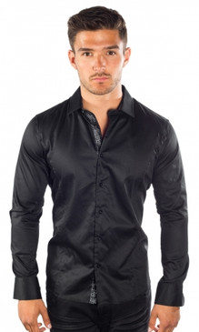 JPJ Silk Black Shirt