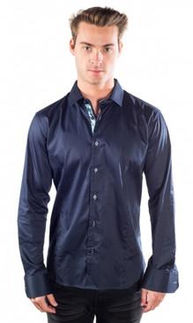JPJ Silk Navy Shirt