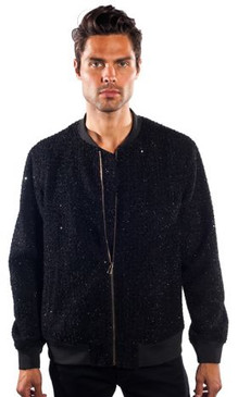 JPJ Full Fleece Black Jacket