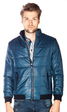 Leeds Lake Blue Men's Jacket