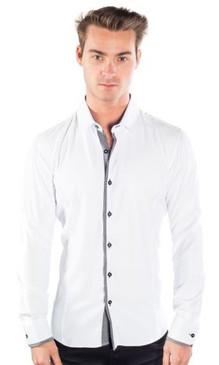 JPJ Pixel White Shirt
