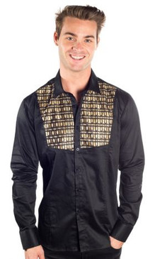 JPJ Rodeo Black Gold Shirt