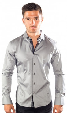 JPJ Silk Grey Shirt