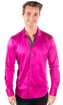 JPJ Silk Magenta Shirt