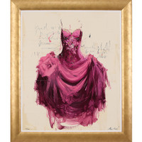 EVE ART & DESIGN - PURPLE DRESS - ELE10007 WWW.EVEDESIGN.COM.AU