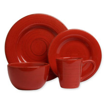 Dish Set Red