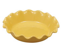 Pie Plate Yellow