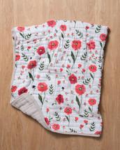 Summer Poppy Quilt