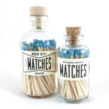 Aqua Matches Apothecary Vintage