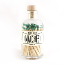 Apothecary Vintage Green Matches