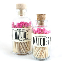 Pink Matches Apothecary Vintage