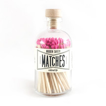 Apothecary Vintage Pink Matches