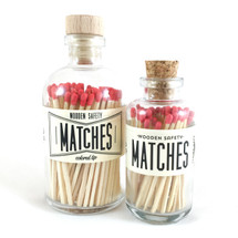 Red Matches Apothecary Vintage