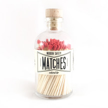 Apothecary Vintage Red Matches
