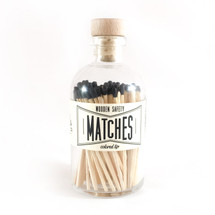 Apothecary Vintage Black Matches